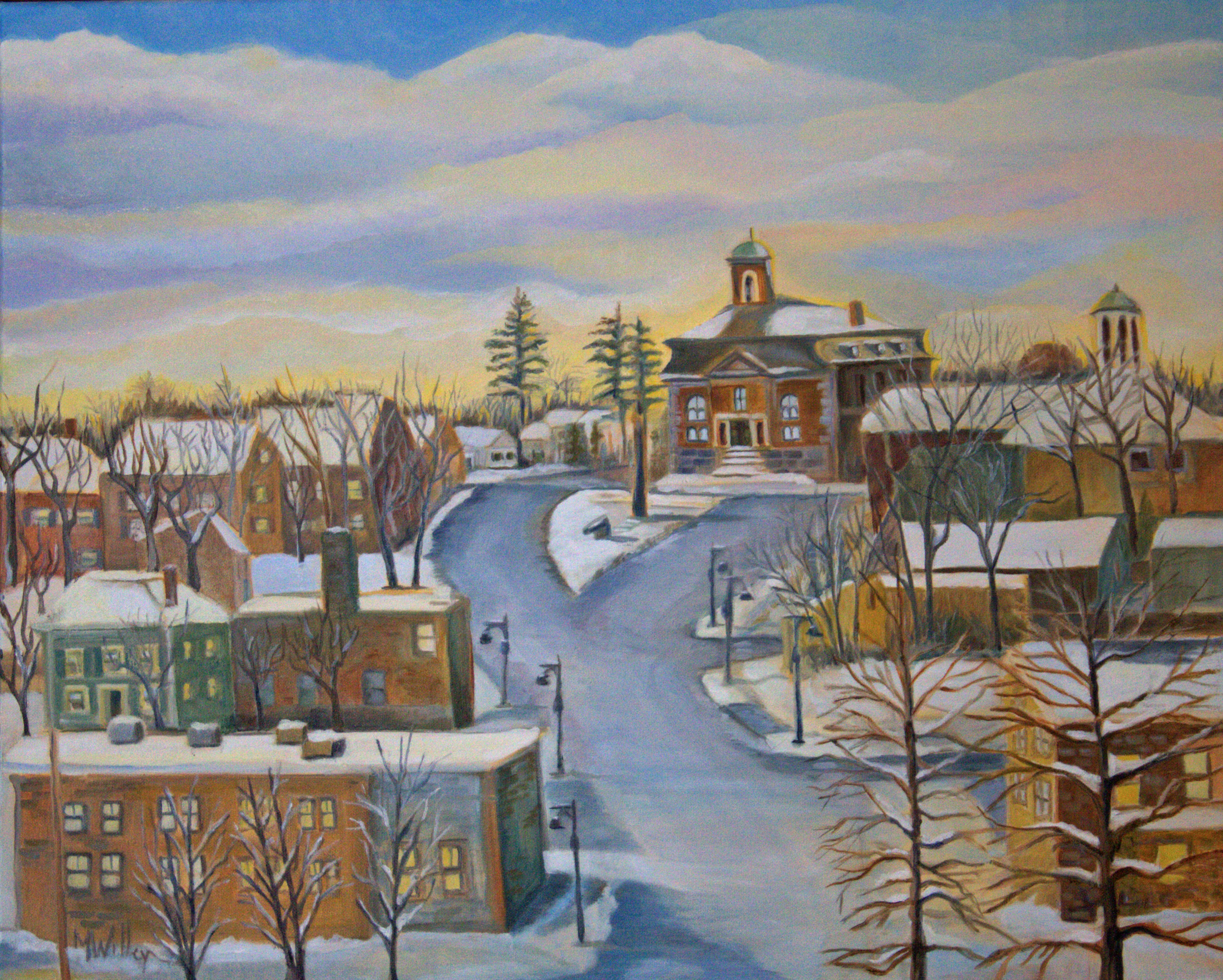"""""""Afternoon Winter Glow"""""""