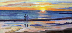 """Saco Sunset"" - sold"