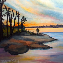 """""""In The West"""" - sold"""