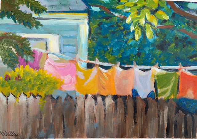 """Spring Drying"" - sold"
