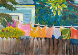 """""""Spring Drying"""" - sold"""