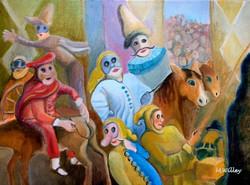 """""""Petruchio in Padua"""" - sold"""