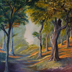 """""""Forest Path"""" - sold"""