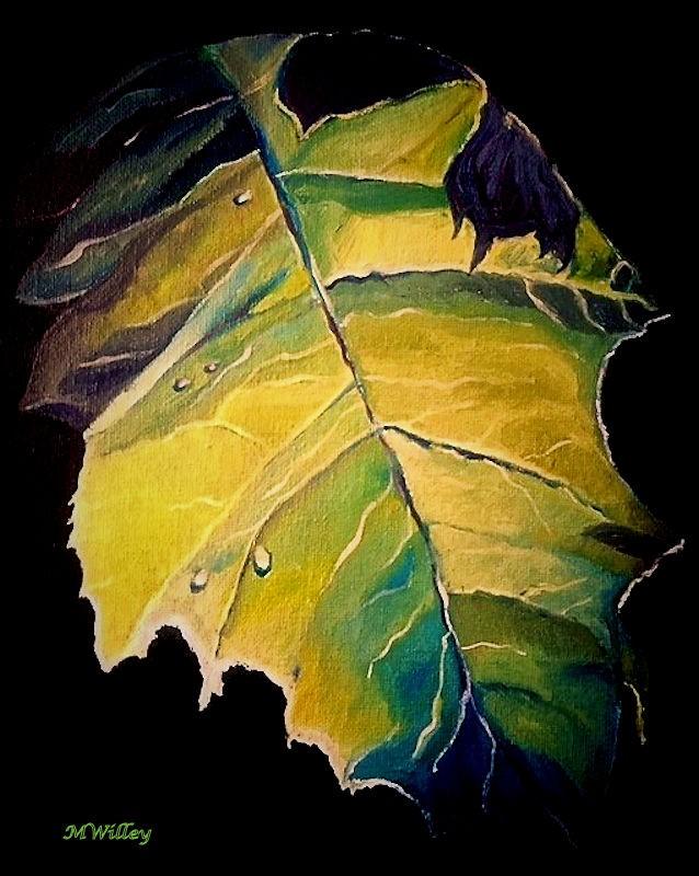 """""""End of Summer Leaf"""""""