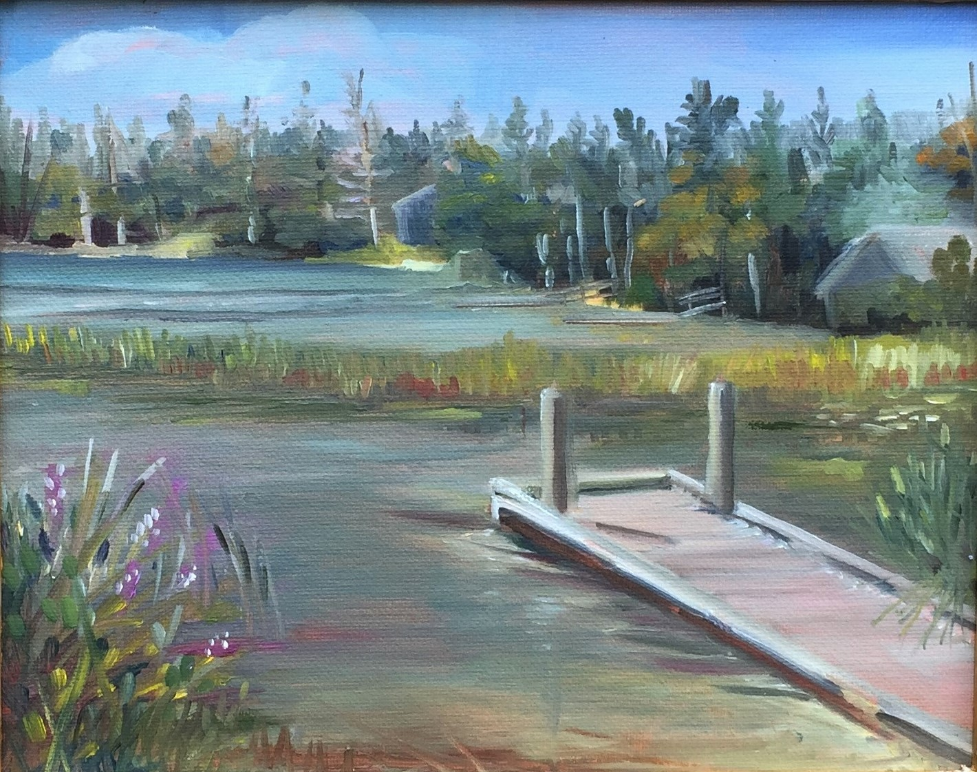 """Echo Lake, Signs of Fall"""