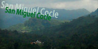 The town of San Miguel Centro Cocle Panama
