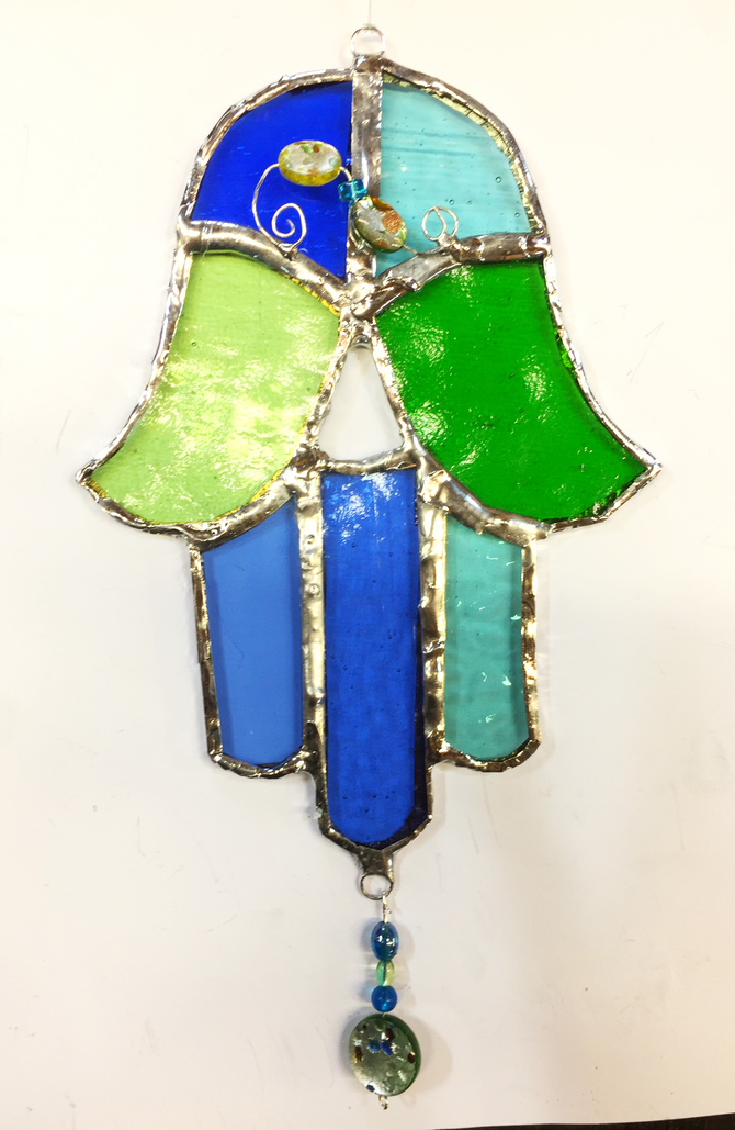 Judith...one-to-one Stained Glass Foiling Class 😃