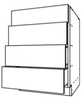 Base Cabinet 4 Drawers