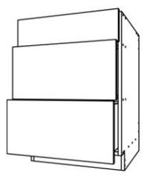 Base Cabinet 3 Drawers