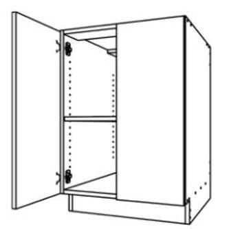 Base Cabinet Double Door