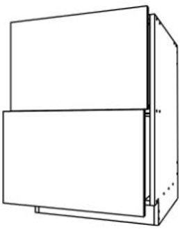 Base Cabinet 2 Drawer