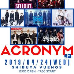2019/04/24(水)東京@渋谷VUENOS