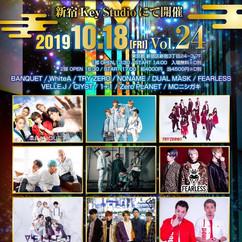 2019/10/18(金)大阪@新宿Key Studio