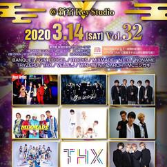 2020/03/14(土)東京@新宿keystudio