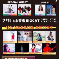 2019/07/01/(月)大阪@BIGCAT