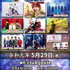 2019/05/29(水)大阪@club joule