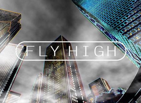NEW Single『 FLY HIGH 』(3ヶ月連続配信第2弾)