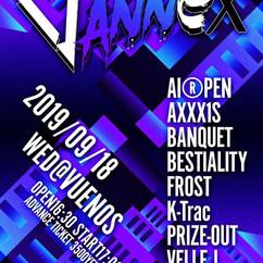 2019/09/18(水)東京@渋谷VUENOS