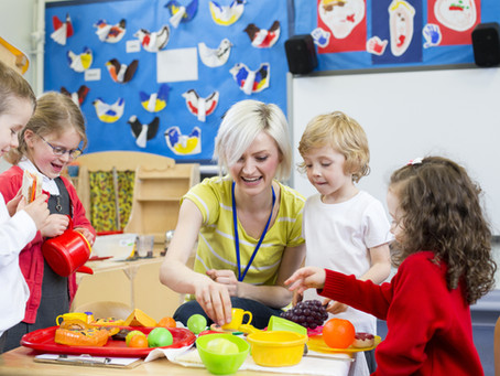 Young nursery practitioner starts her career after the impact of COVID-19 left her stranded