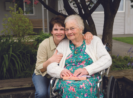 Mother begins her career in the care sector