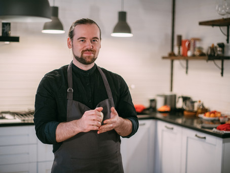 Richard shares his passion for cooking thanks to Fair Start Scotland