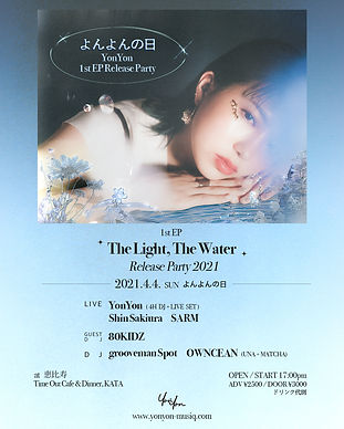 YonYon_TheLightTheWater_ReleaseParty2021