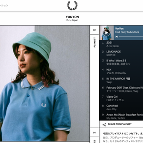 【Interview】2/18(木) FRED PERRY JAPAN   YONYON Subculture (Web)