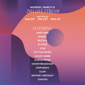 【Interview】POP WIRE SG | KITSUNÉ MUSIQUE PRESENTS WOMEN'S DAY 24H MIX IN PARTNERSHIP WITH SHESAID.SO