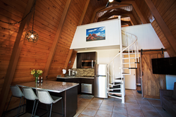 Plenty of space to cook, relax, and plan