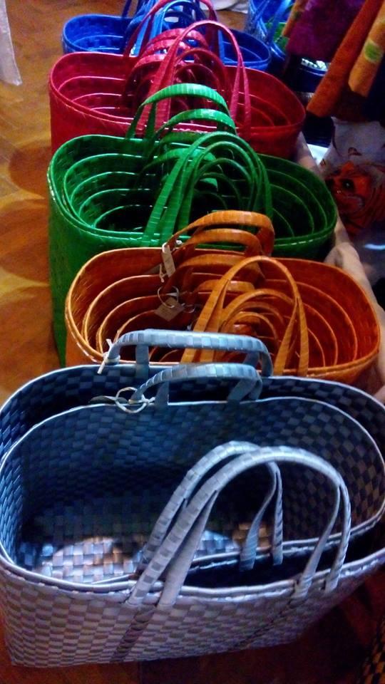 Plastic Baskets (mono-color)