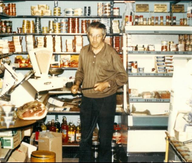 Franc castanier dans le grand magasin 19