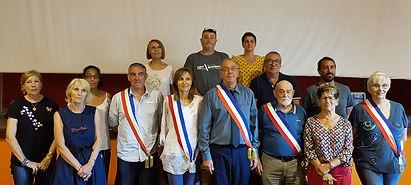 L'équipe municipale de Moussac
