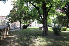 Vue du parc de Moussac 30190