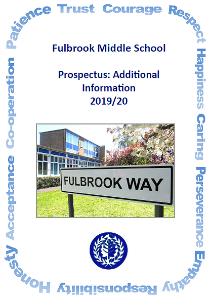 Front Page Image Prospectus Additional I