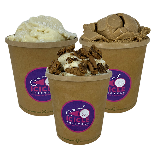 Brunswick Pack - Double Shot Latte, Coconut, Cookies & Cream
