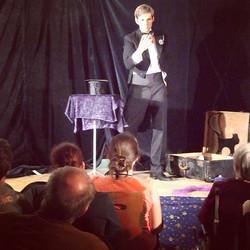 Malepartus bei der  2. #Zauberschlacht _#poetryslam meets #magicshow The inventors of #Zauberschlach