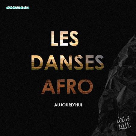 Zoom sur un style de danse : les danses afro aujourd'hui