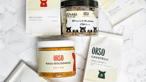 Orso fresh pasta delivered straight to your door!