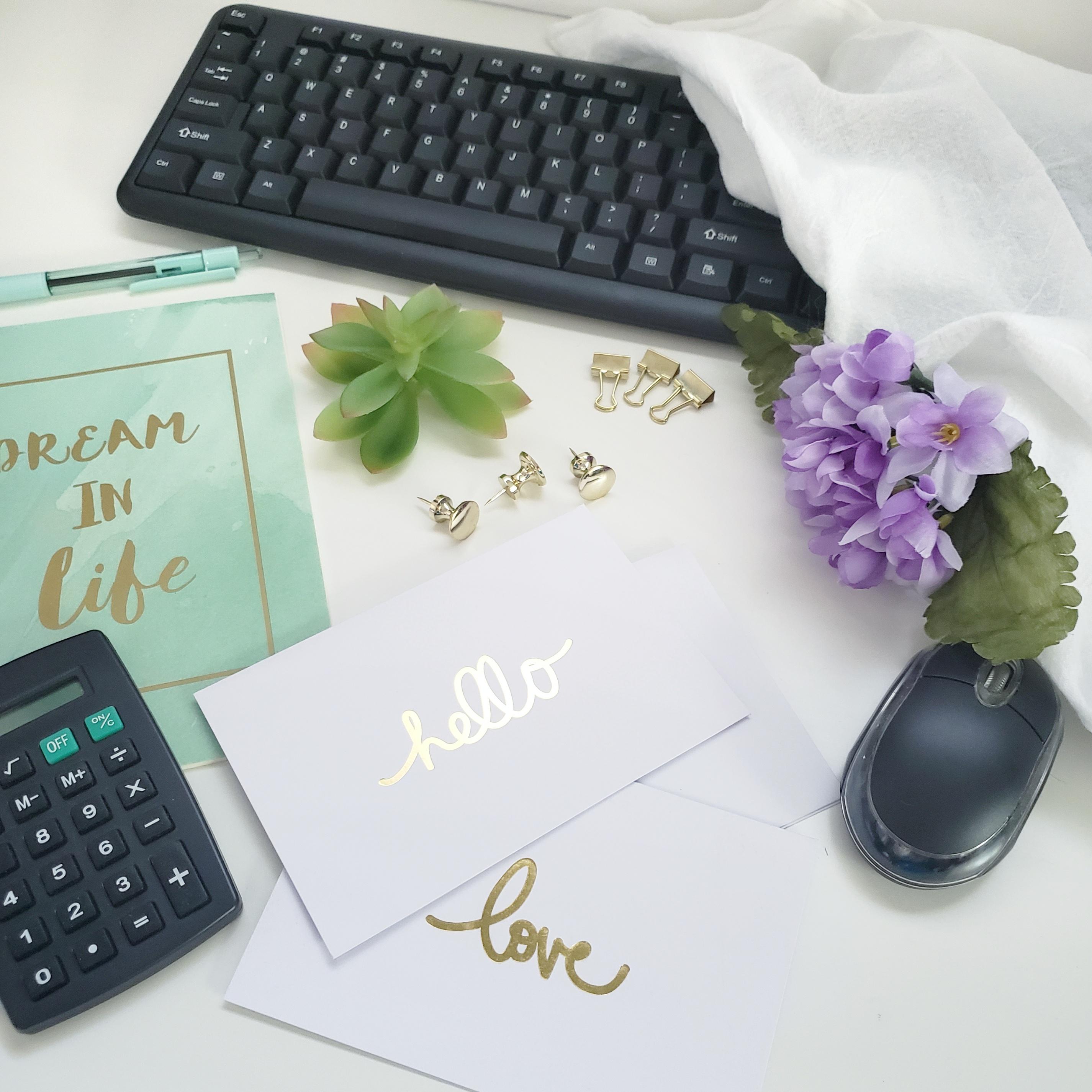 Dream in Life Flat lay kit