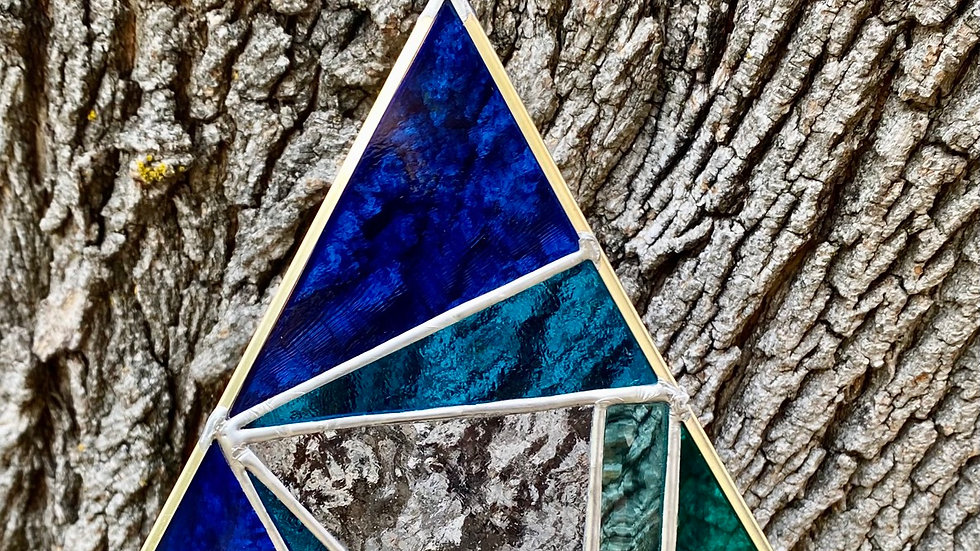 Blue Green Prism