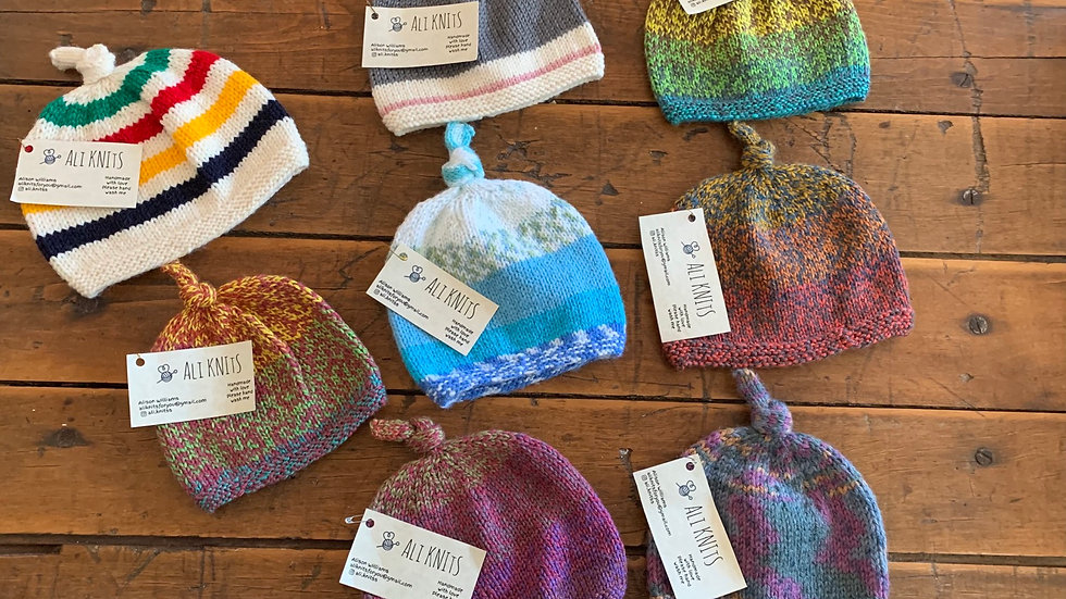 Knot Baby hats
