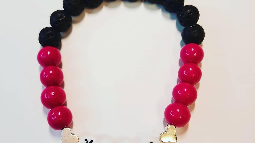 Valentine's Anxiety Diffuser Bracelet