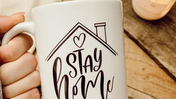 Stay Home Mug
