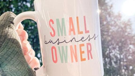 Small Business Owner Mug