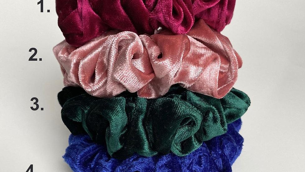 Velvety Scrunchies