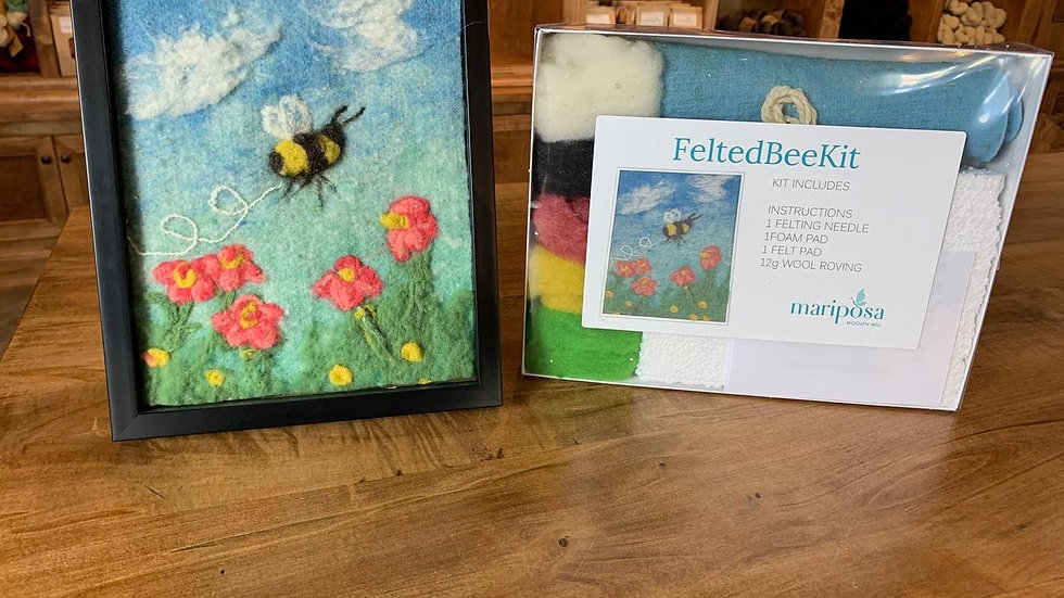 Bee and Sheep Felt Kits