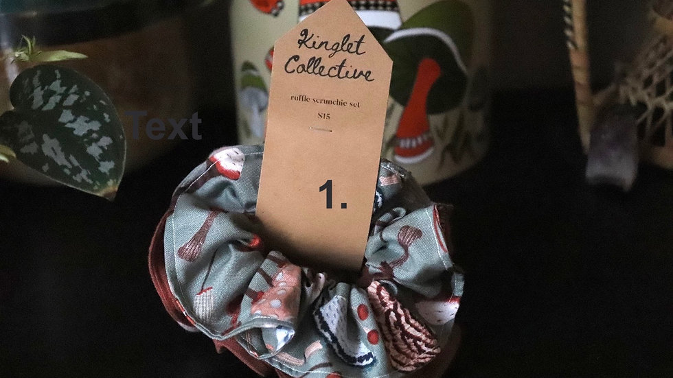 Ruffle Scrunchie Sets