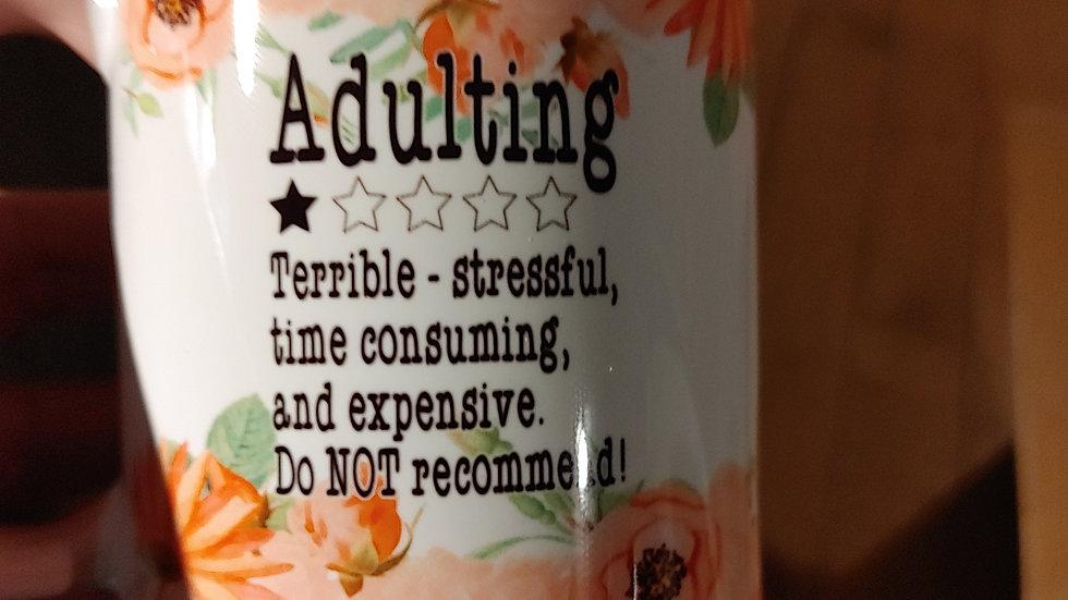 Adulting Mug