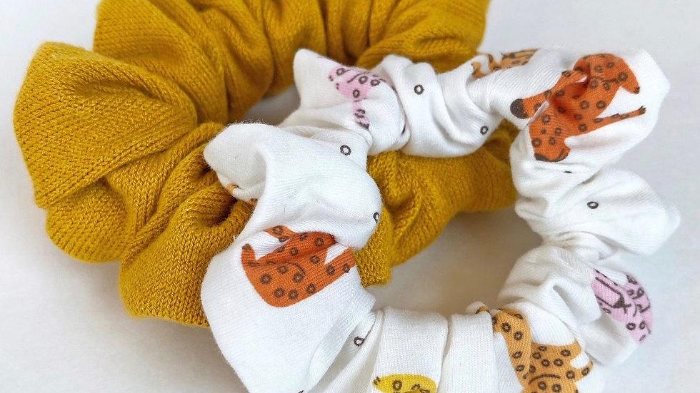 Yellow Scrunchies