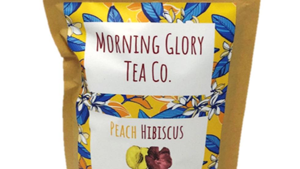 Peach Hibiscus Oolong Tea